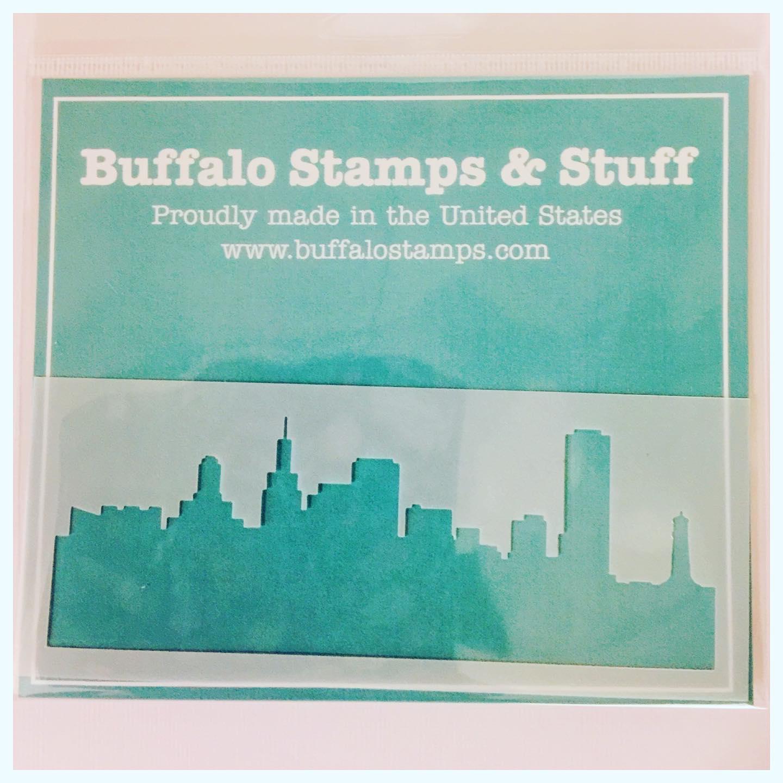 BSS - Buffalo Skyline Stencil