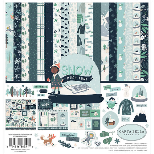 Carta Bella - Snow Much Fun Collection Pack