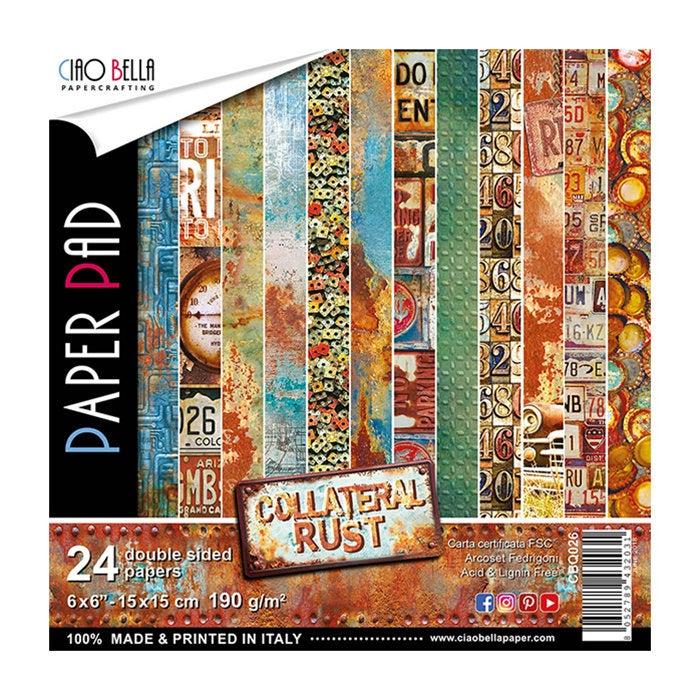 Ciao Bella - Collateral Rust 6X6 Paper Pad