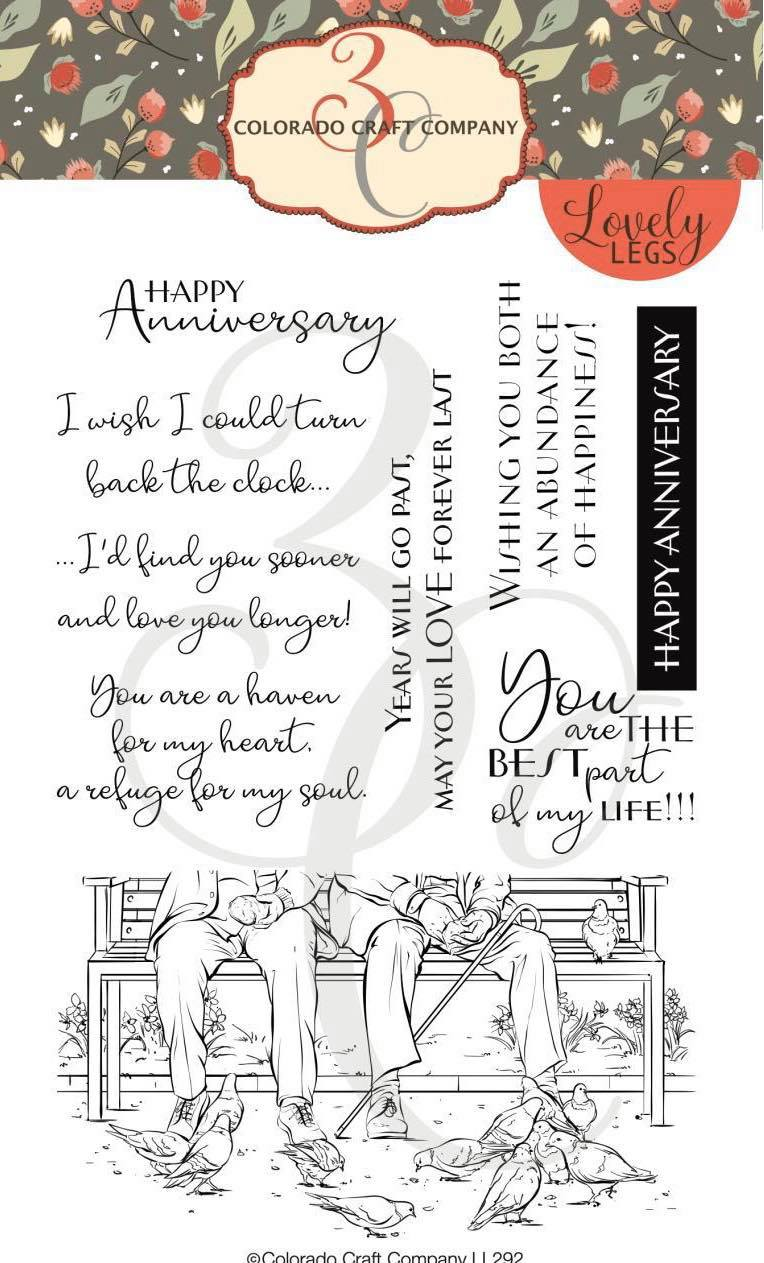 Colorado Craft Co. - Lovely Legs Best Life Stamp Set