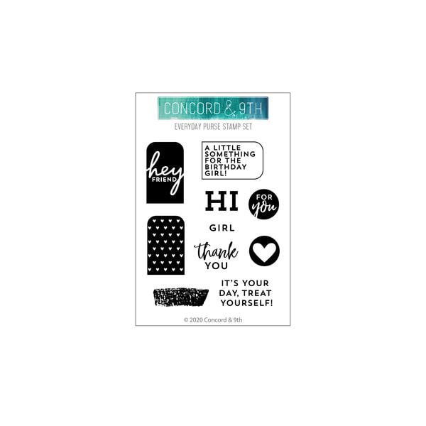 Concord & 9th - Everyday Purse Stamp Set