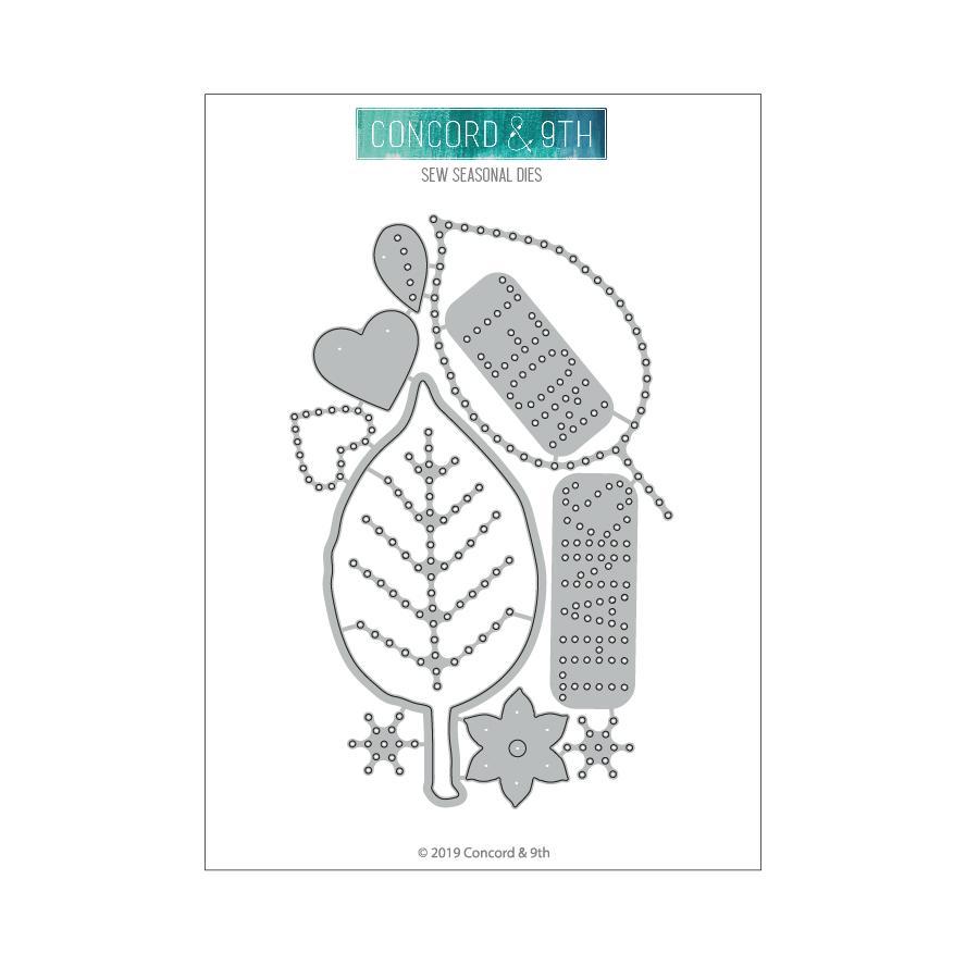 Concord & 9th - Sew Seasonal Dies