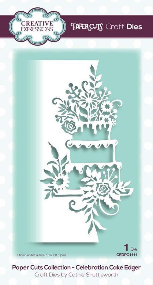 Creative Expressions - Celebration Cake Die