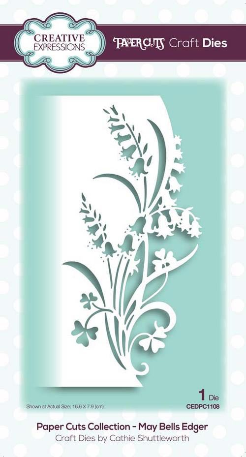 Creative Expressions - May Bells Edger Craft Die