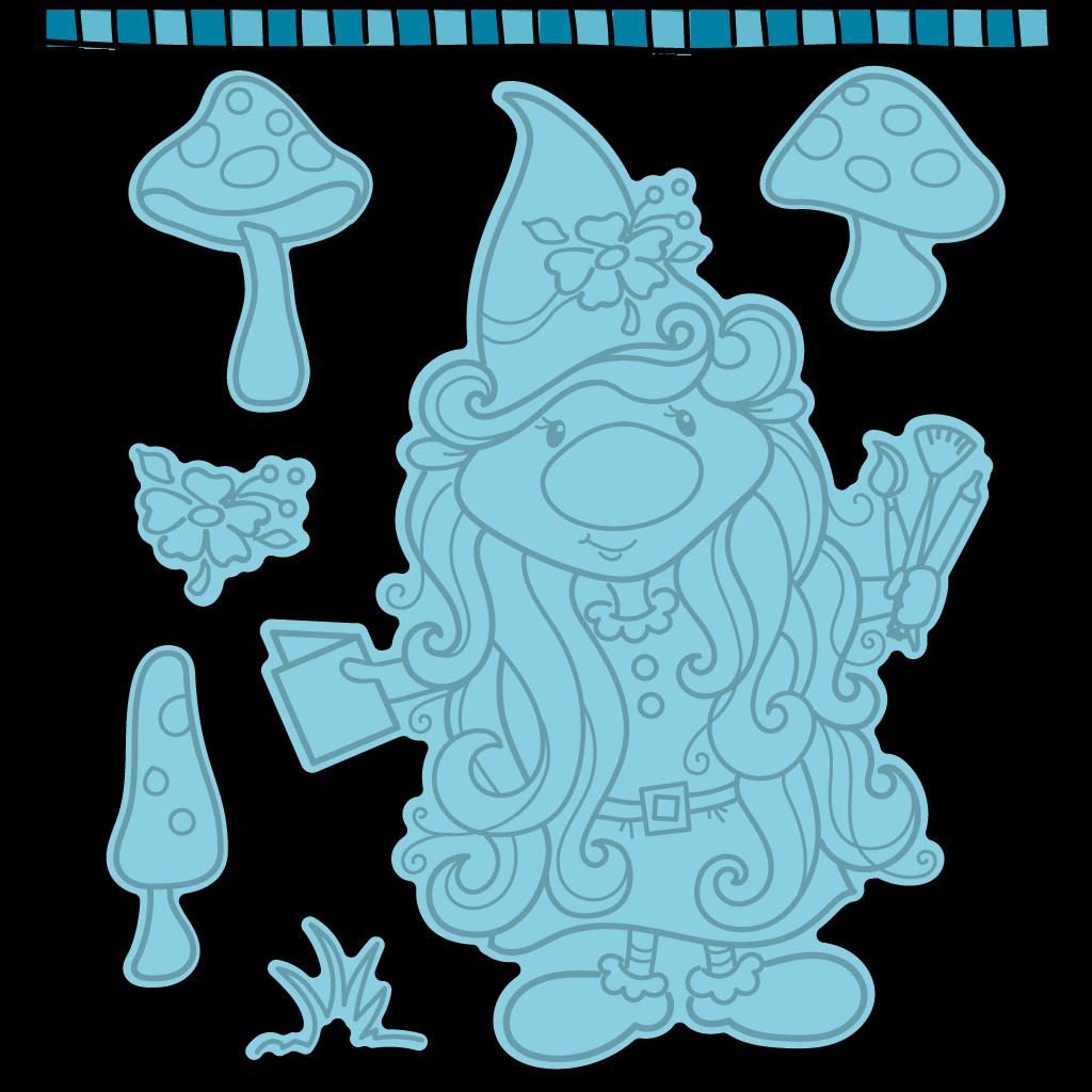 Dare 2B Artzy - Crafty Gnome Die