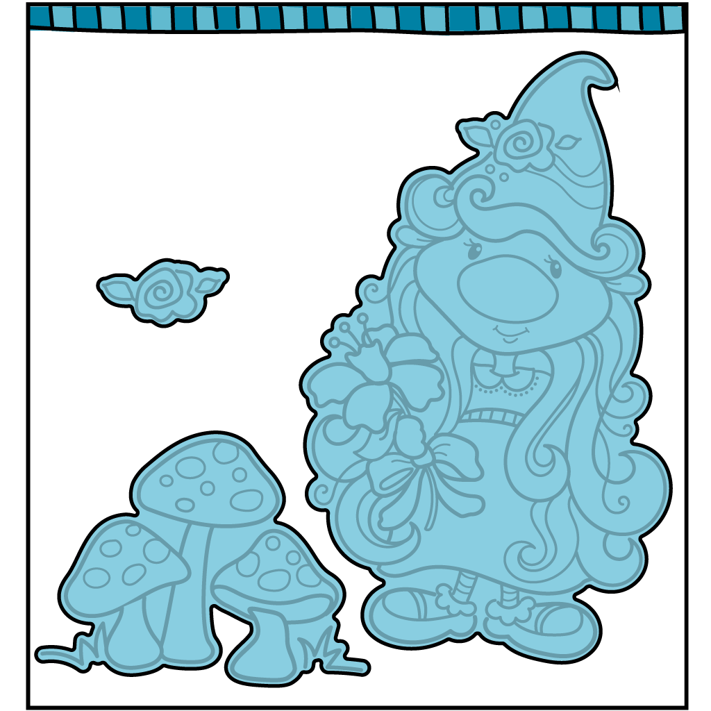 Dare 2B Artzy - Flower Gnome Die