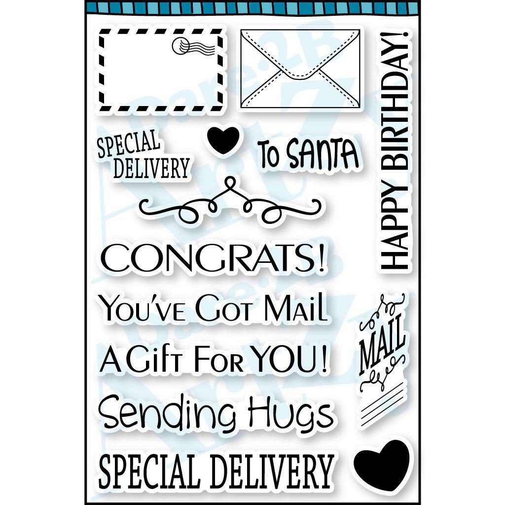Dare 2B Artzy - You've Got Mail Stamp Set