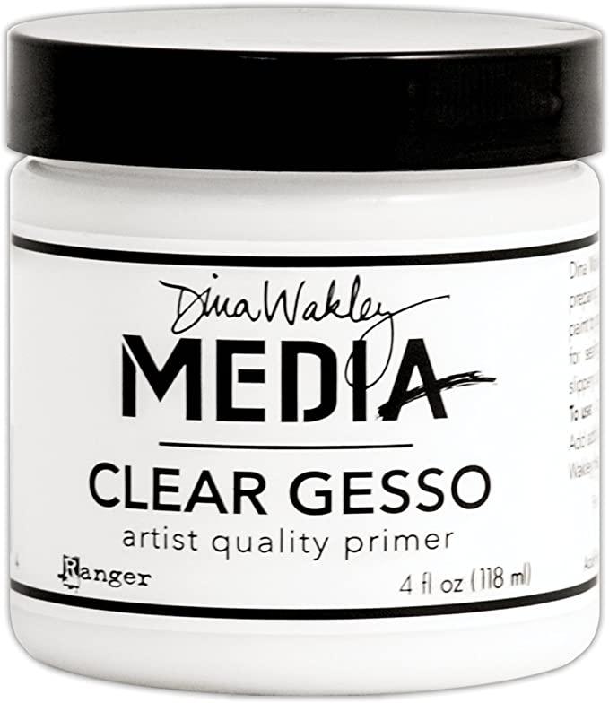 Dina Wakley - Media Clear Gesso