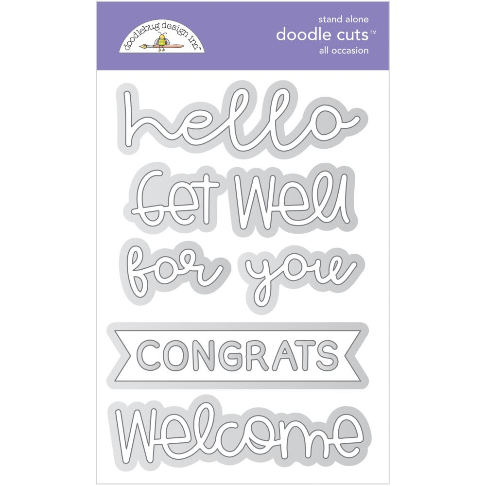 Doodlebug - All Occasions Doodle Cut Dies