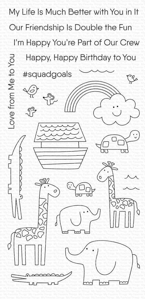MFT - Double the Fun Stamp Set