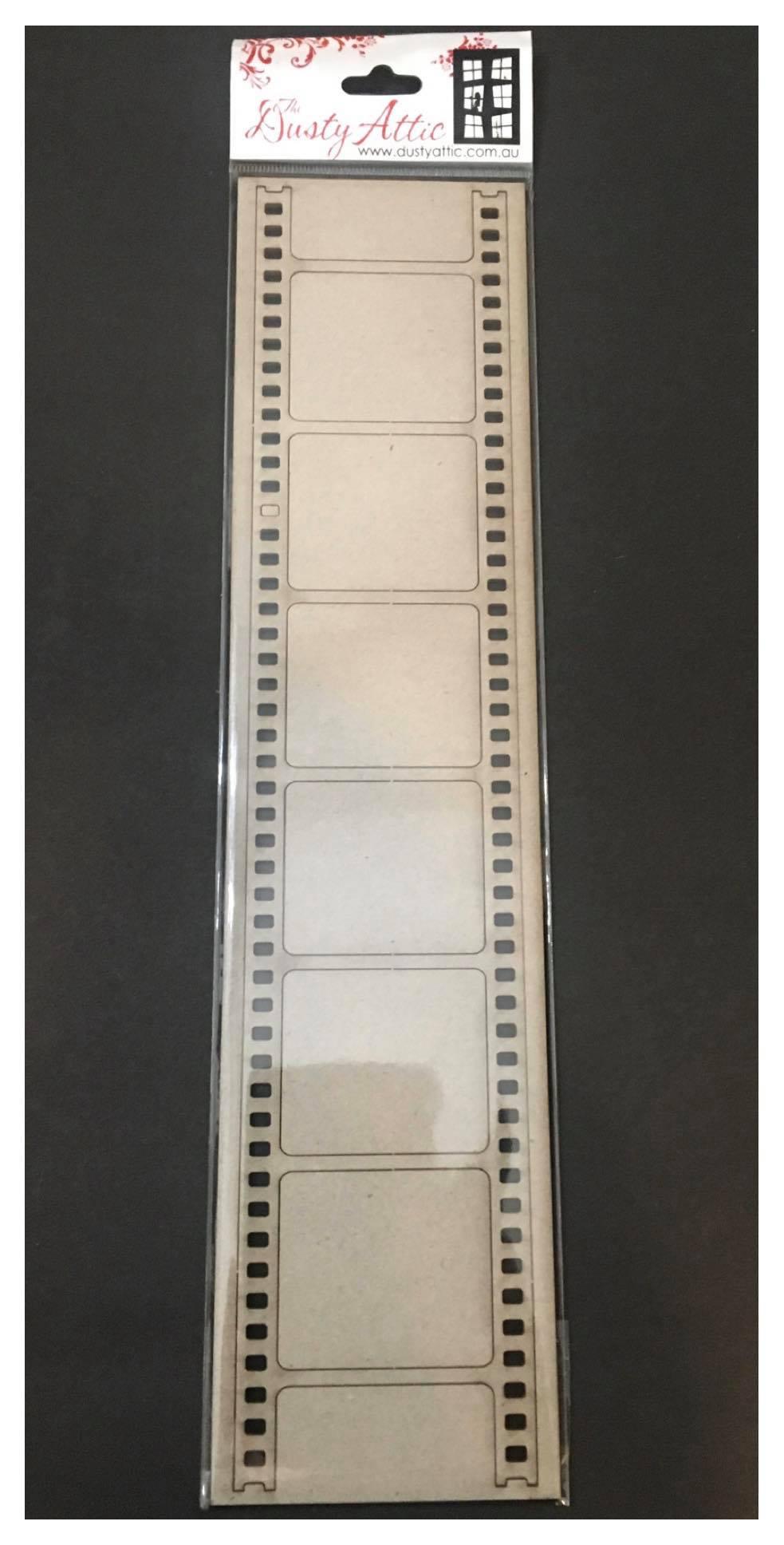 Dusty Attic Chipboard - Photo Strip