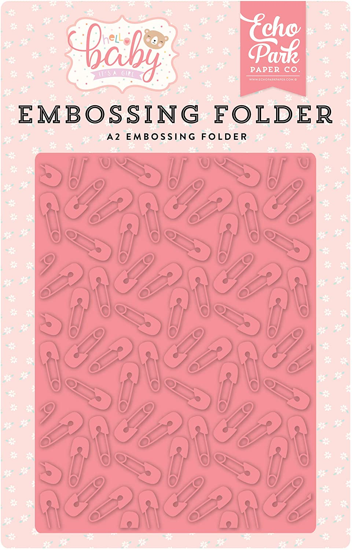 Echo Park - Baby Pin Embossing Folder