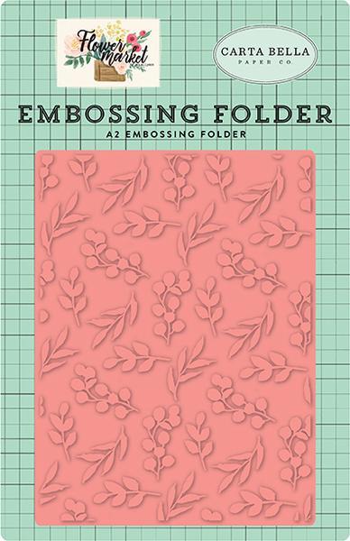 Echo Park - Bloom & Grow Embossing Folder