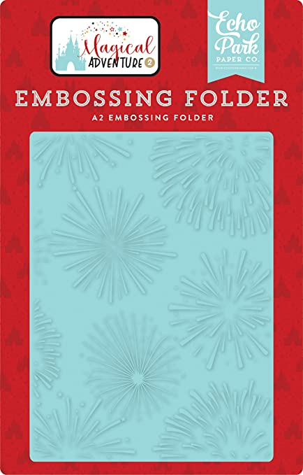 Echo Park - Firework Magic Embossing Folder