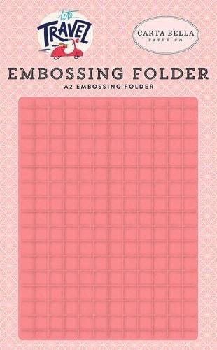 Echo Park - Grid Embossing Folder