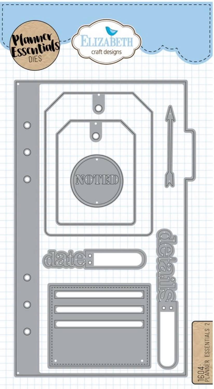 Elizabeth Craft Designs - Planner Essential 2