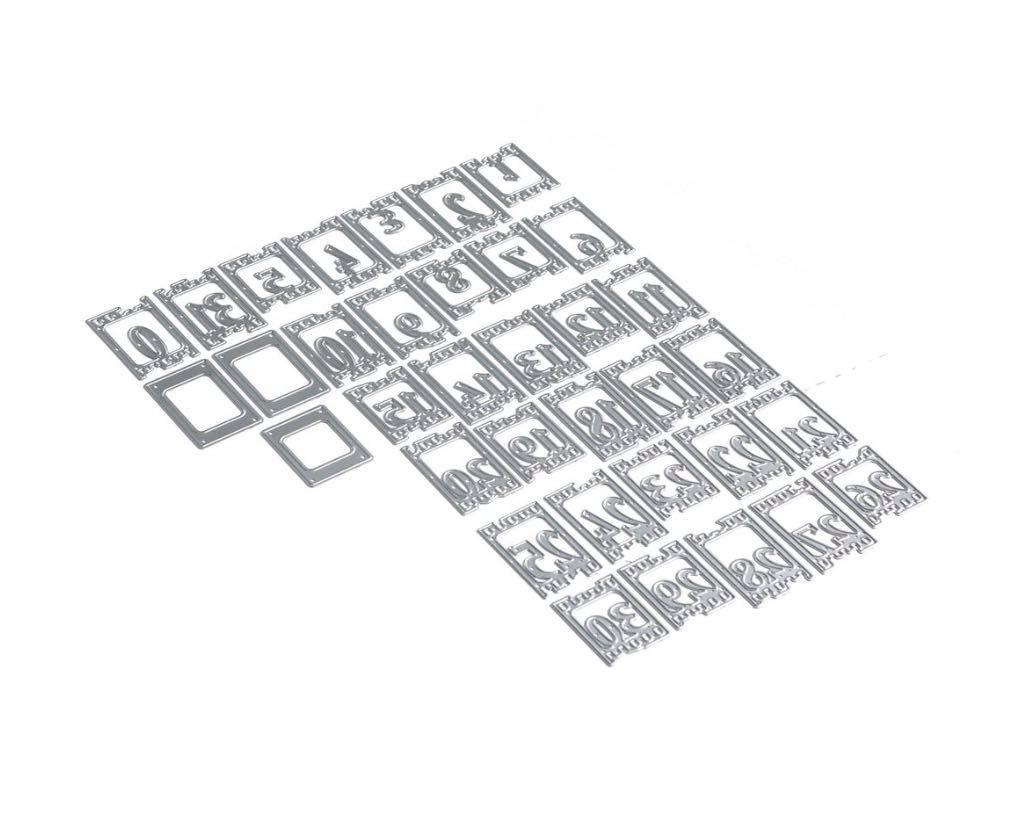 Elizabeth Craft Designs - Planner Essentials 17: Filmstrip Numbers