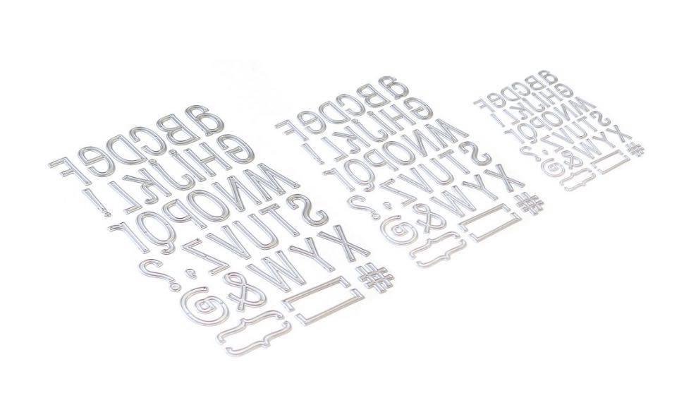 Elizabeth Craft Designs - Planner Essentials 23: Retro Alphabet Trio
