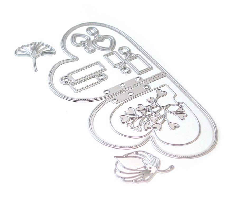 Elizabeth Craft Designs - Planner Essentials 25: Double Heart Insert