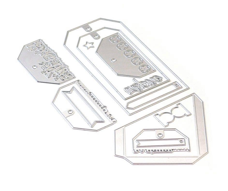 Elizabeth Craft Designs - Planner Essentials 26: Planner Pocket 4 (Tag & Toppers)