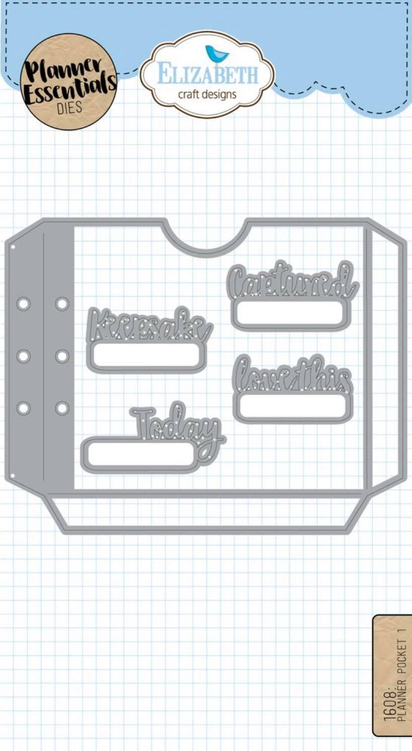 Elizabeth Craft Designs - Planner Pocket 1