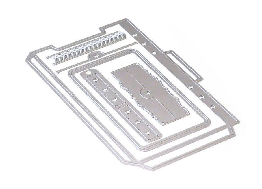 Elizabeth Craft Designs: Planner Essentials 22: Planner Pocket 3 (Top Loading)