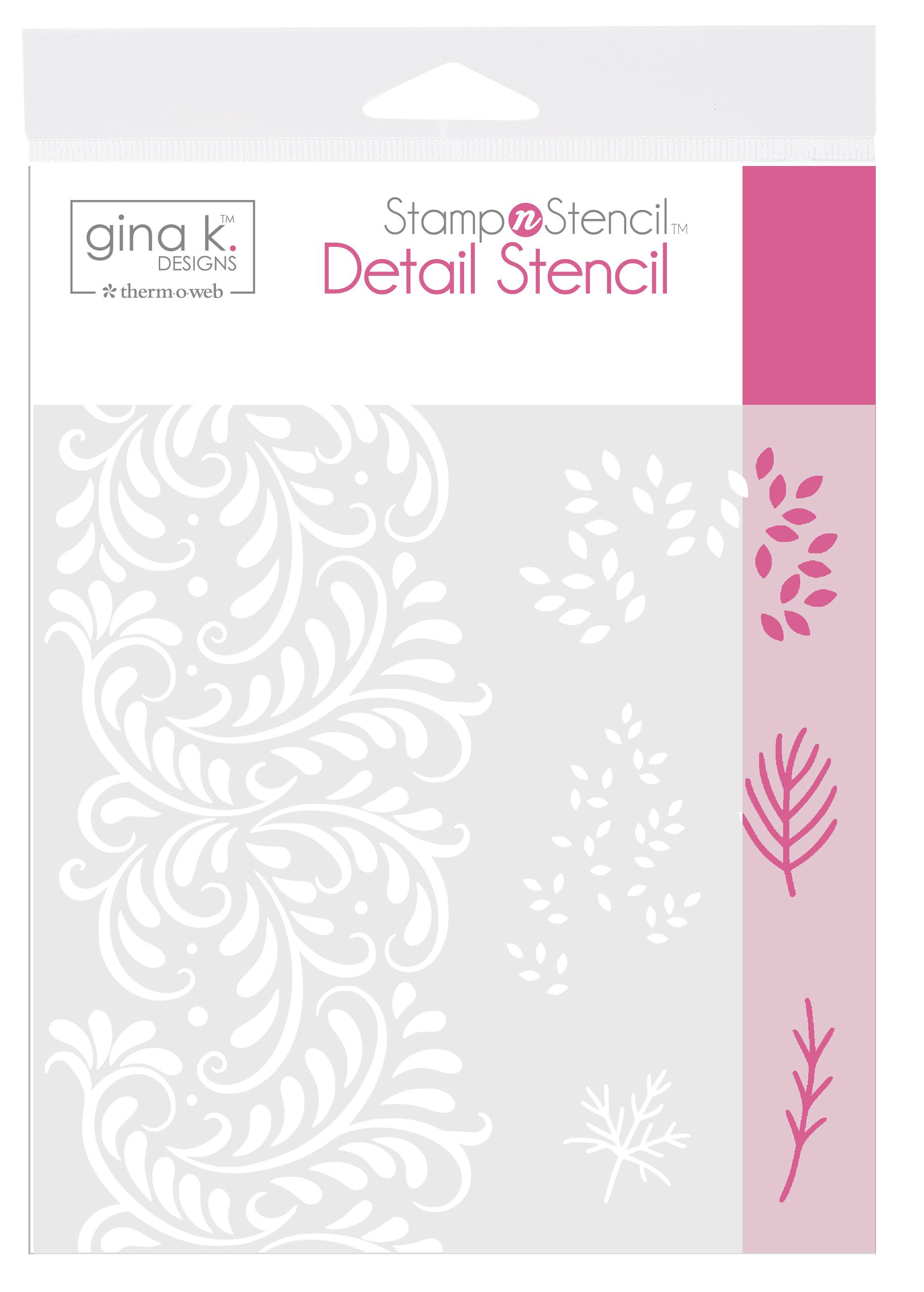 Gina K Designs - Autumn Wishes Stencil