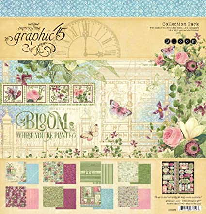 Graphic 45 - Bloom 12x12 Collection Pack