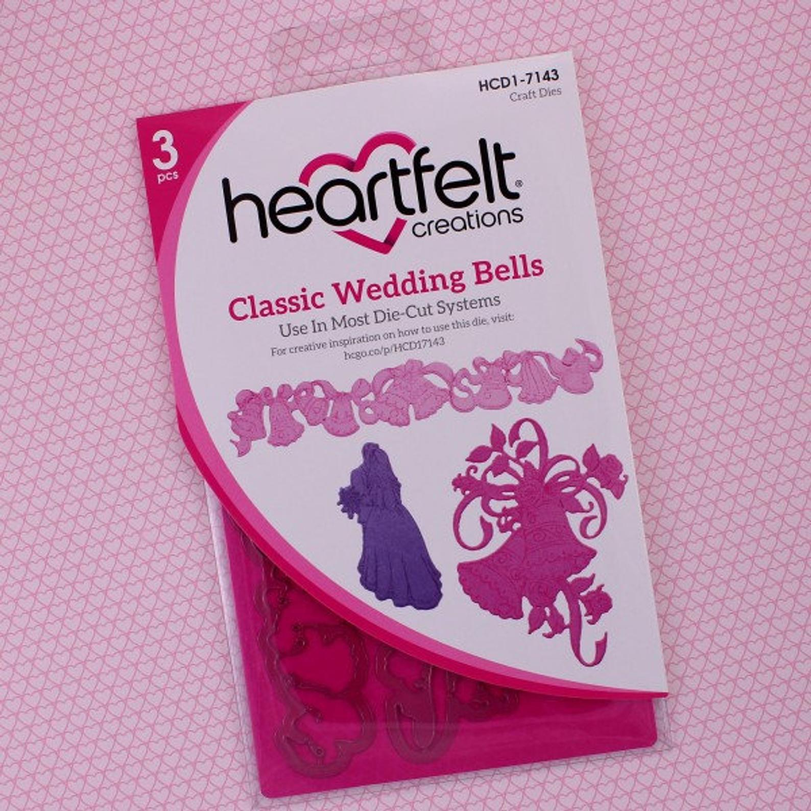 Heartfelt Creations - Classic Wedding Bells Die Set