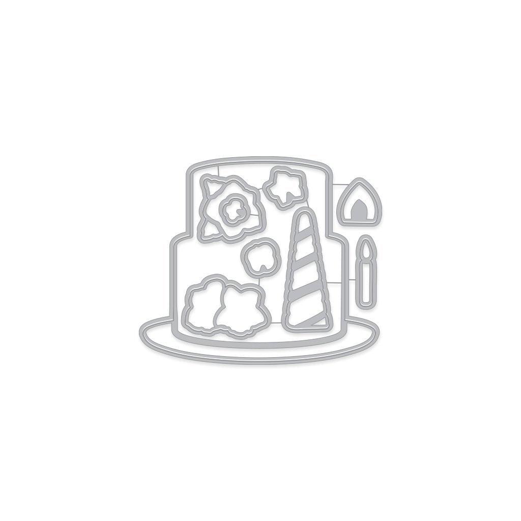 Hero Arts - Decorate a Cake Frame Cuts