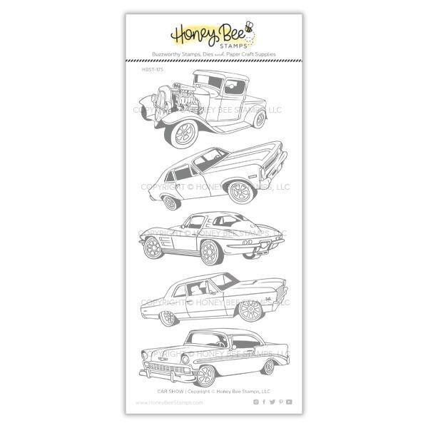 Honey Bee Stamps - Car Show Stamp Set