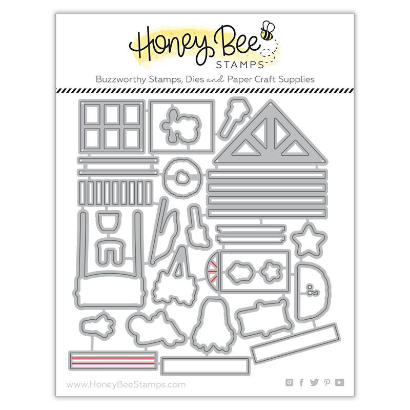 Honey Bee Stamps - Farmhouse Add-On Honey Cuts