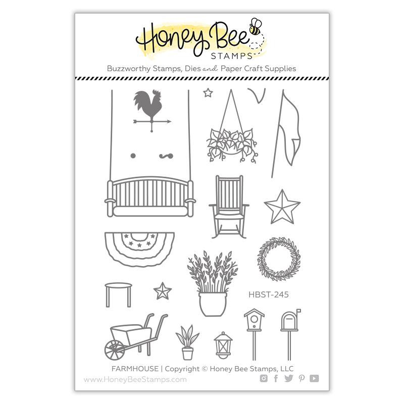 Honey Bee Stamps - Farmhouse Add-On Stamp Set