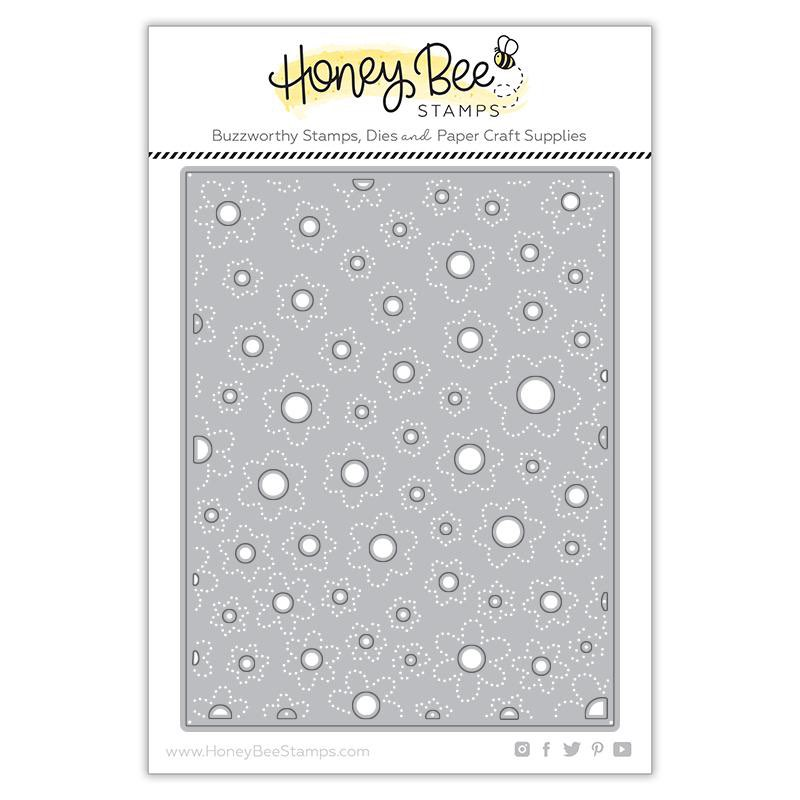 Honey Bee Stamps - Flower Centers Cover Plate Honey Cuts