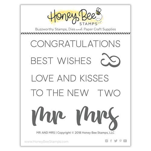 Honey Bee Stamps - Mr & Mrs Stamp Set