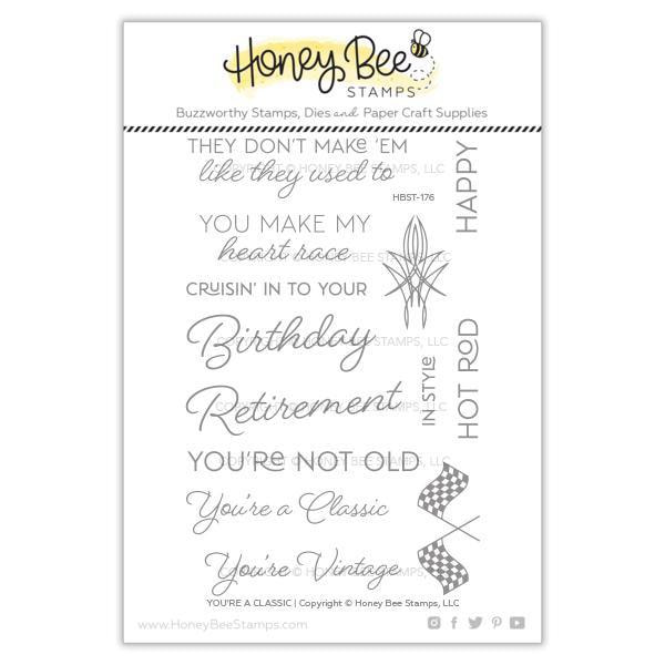 Honey Bee Stamps - You're a Classic Stamp Set