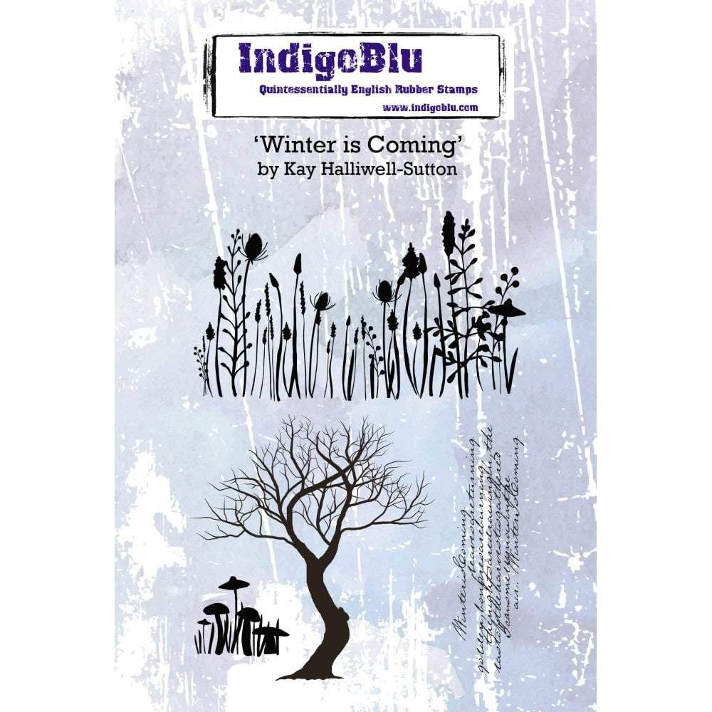 IndigoBlu - Winter is Coming Rubber Stamp