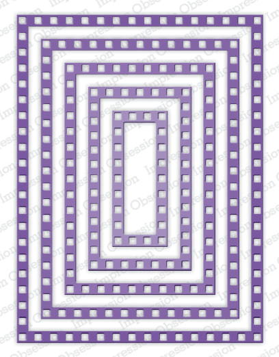 IO - Checkered Frames Die