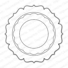 IO - Circle Shaker Frame Die (SALE)