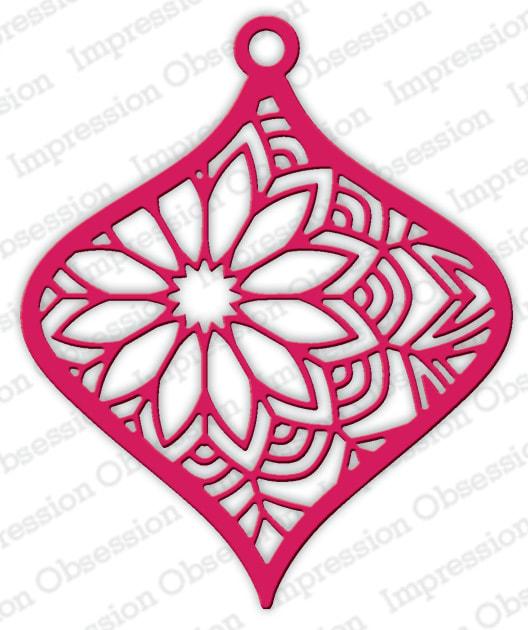 IO - Floral Ornament Die