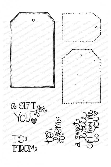 IO - Gift Tags Stamp Set
