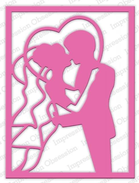 IO - Heart Couple Frame Die