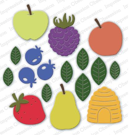 IO - Jam Jar Fruits Die