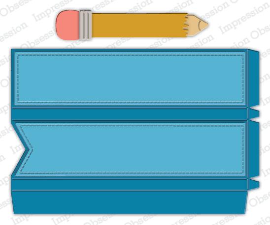 IO - Pencil Favor Box Die (SALE)