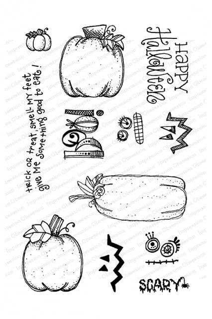 IO - Pumpkins Stamp Set