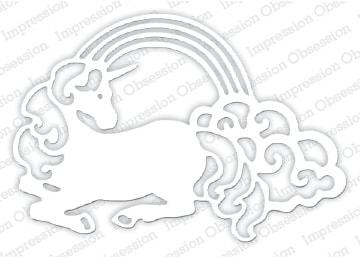 IO - Rainbow Unicorn Die