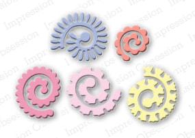 IO - Spiral Flowers Die