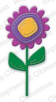 IO - Stitched Flower Die