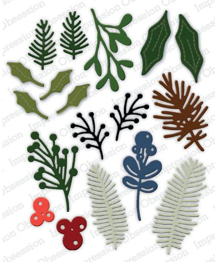 IO - Winter Foliage Die