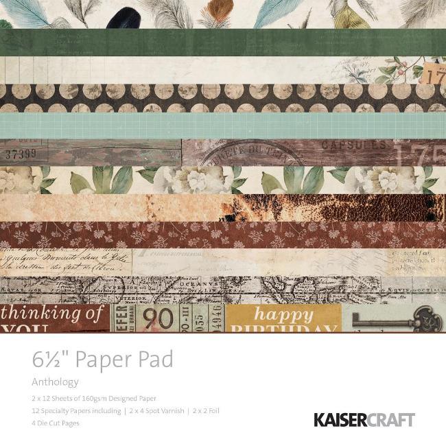 Kaisercraft - Anthology Paper Pad (6.5x6.5)